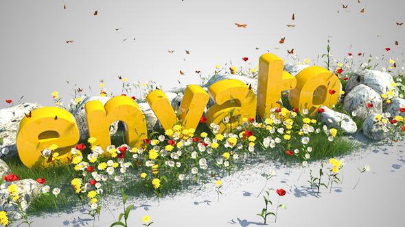 Landscape Nature Logo - 3DOcean Item for Sale