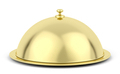 Gold cloche - PhotoDune Item for Sale