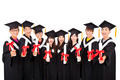 Group Of asian Students Celebrating Graduation - PhotoDune Item for Sale