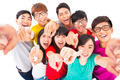 happy Young people pointing at you - PhotoDune Item for Sale