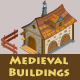 Isometric Game Asset - Medieval Buildings Vol 1 - GraphicRiver Item for Sale