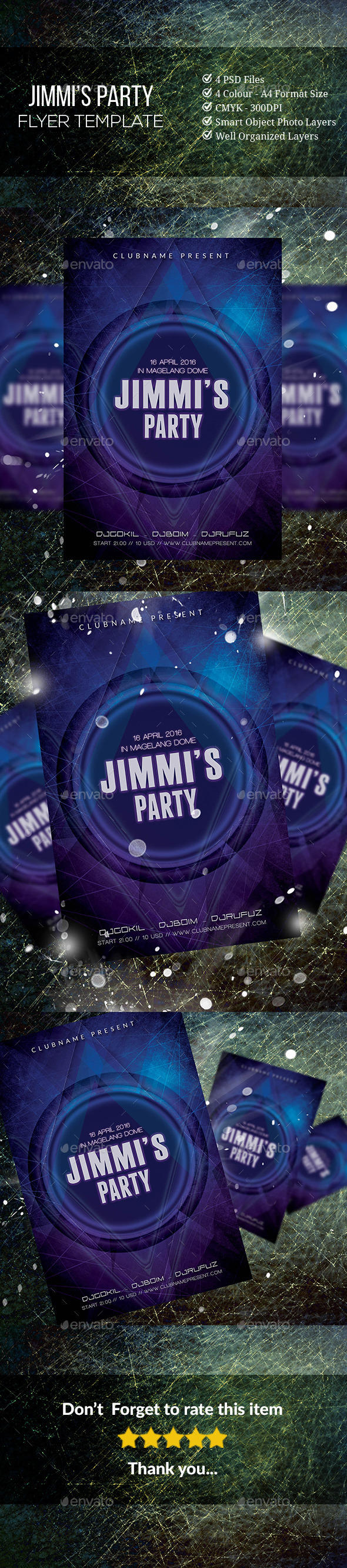 GraphicRiver Jimmi s Party 11603384