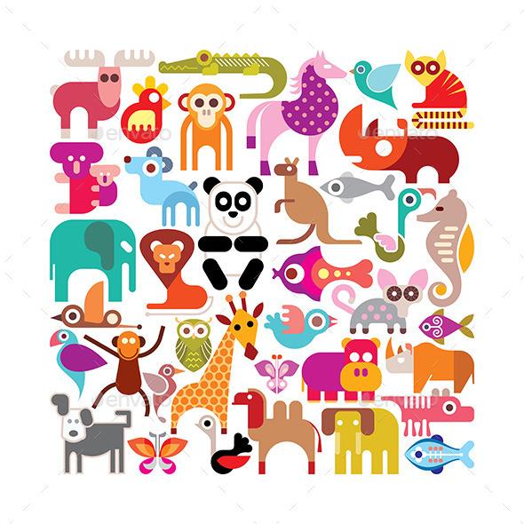 GraphicRiver Animals 11603536