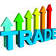Trade Increasing Indicates Business Graph And Biz - PhotoDune Item for Sale