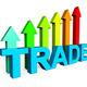 Trade Increasing Indicates Business Graph And Biz - PhotoDune Item for Sale