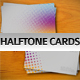 Halftone Business Cards - GraphicRiver Item for Sale