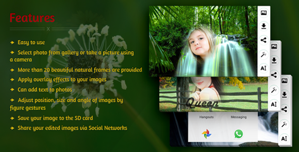 CodeCanyon Edit Photo With Natural Frames 11603630