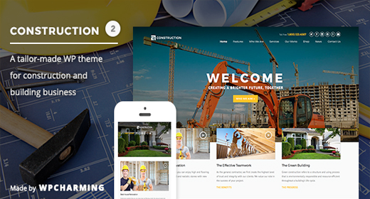 Building | Construction WP Themes