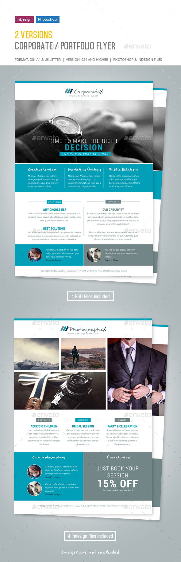 GraphicRiver Corporate Portfolio Flyer 11604805