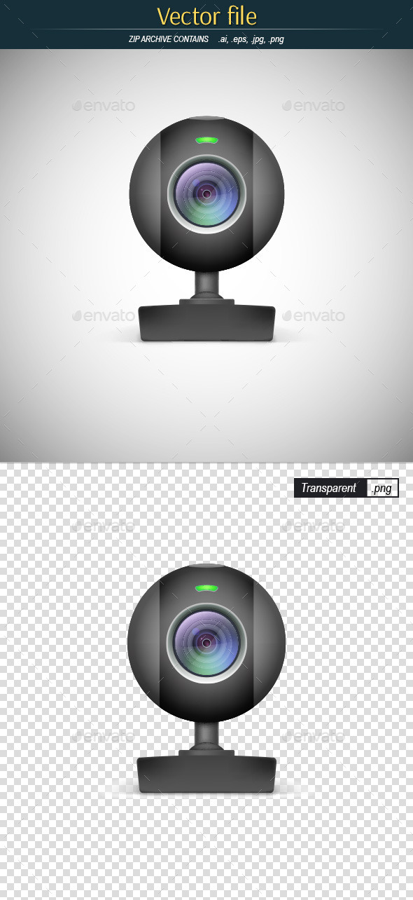 GraphicRiver Webcam Icon 11604881