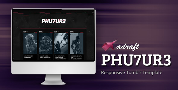 ThemeForest PHU7UR3 Responsive Tumblr Template 11606092