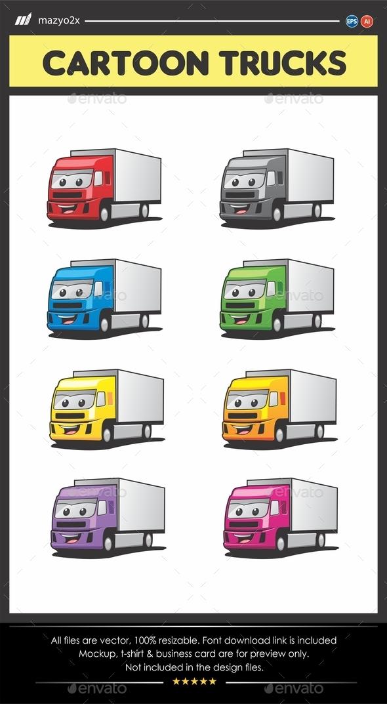 GraphicRiver Cartoon Truck 11606397