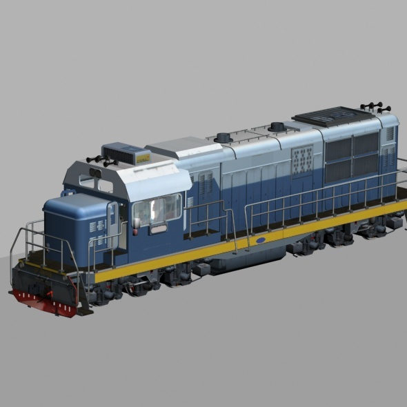 Train 3Dmax Model - 3DOcean Item for Sale