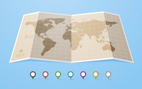 GraphicRiver World Map 11606896