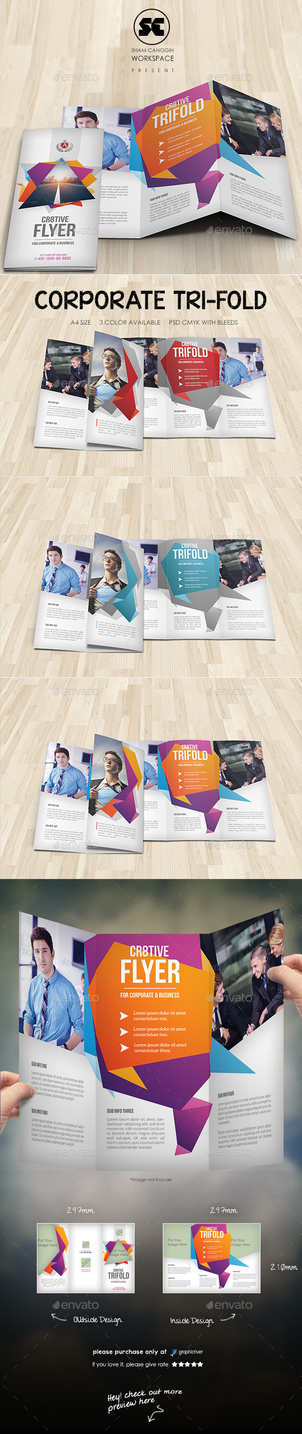 GraphicRiver Creative Corporate Tri-Fold 11607051