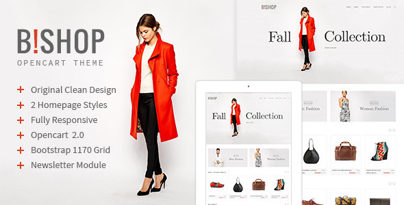 ThemeForest Bishop Opencart Responsive Theme 11607490