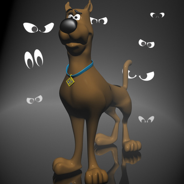 3DOcean Scooby-doo 3D RIGGED 11608307