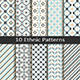 Set of Ten Ethnic Patterns - GraphicRiver Item for Sale