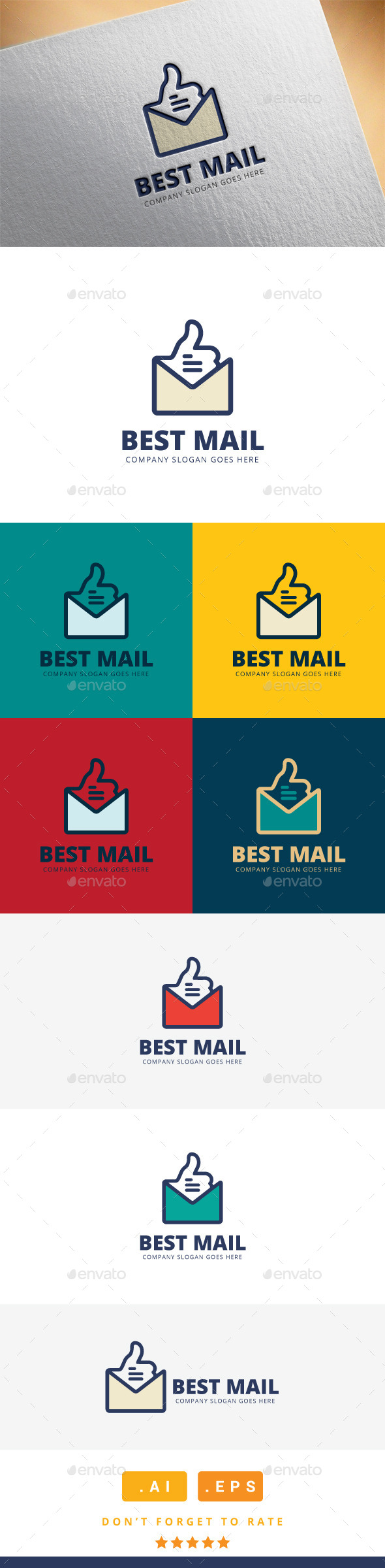 GraphicRiver Best Mail Logo 11608658