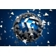 Abstract 3D Rendering Of Low Poly Sphere. - GraphicRiver Item for Sale