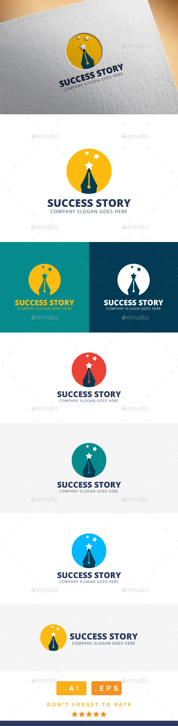 GraphicRiver Success Story Logo 11608751