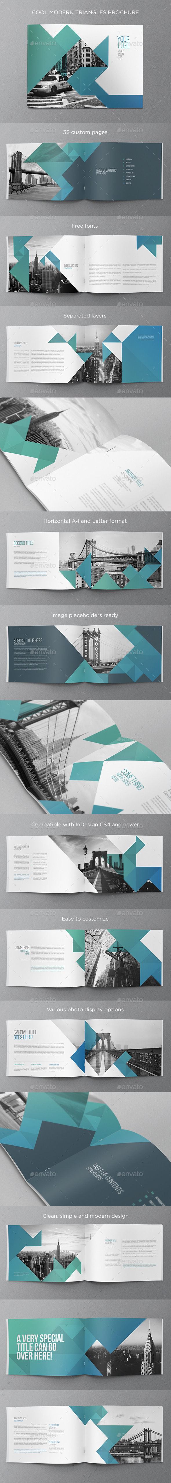 GraphicRiver Cool Modern Brochure 11532759