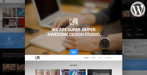 Nonus Parallax Wordpress Portfolio - Portfolio Creative