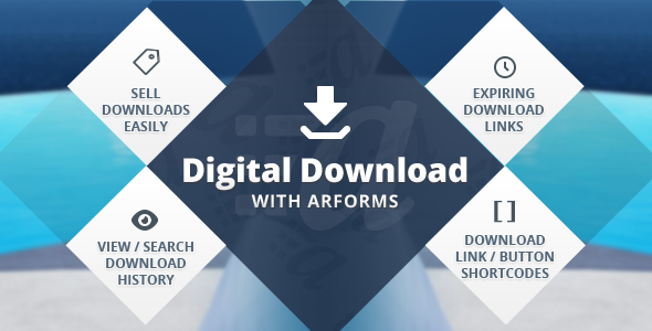 CodeCanyon Digital downloads with Arforms 11609535