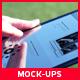 10 Black High Quality Tablet Mock-Ups - GraphicRiver Item for Sale