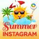 Summer Sale Instagram Templates - 6 Designs - GraphicRiver Item for Sale