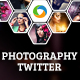 Photography Twitter Headers - 5 Designs - GraphicRiver Item for Sale
