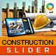 Construction Slider - GraphicRiver Item for Sale