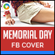 Memorial Day Facebook Cover - GraphicRiver Item for Sale