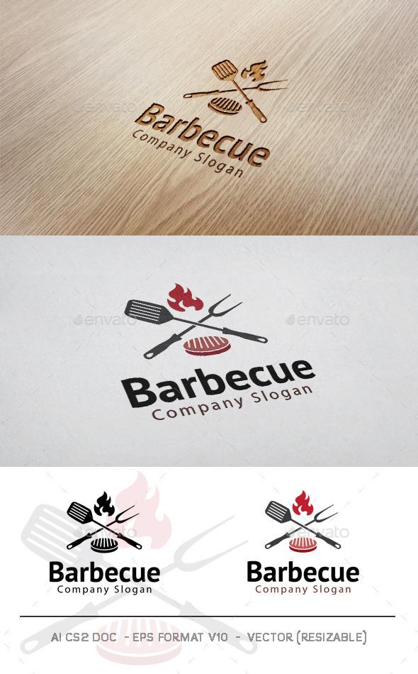 GraphicRiver Barbecue Logo 11584057