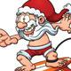 Surfing Santa - GraphicRiver Item for Sale