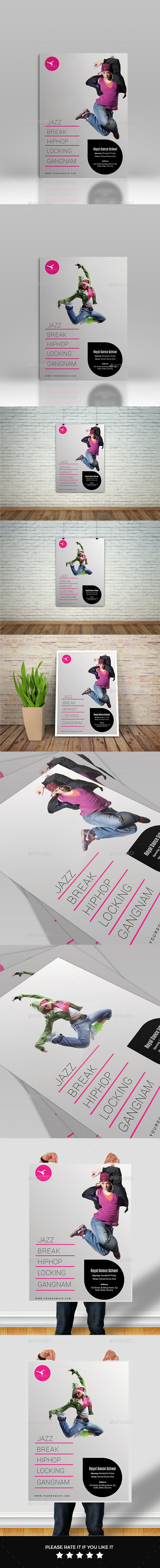 GraphicRiver Dancing Flyers 11610575