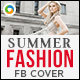 Summer Fashion Facebook Cover - GraphicRiver Item for Sale