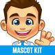 Businessman Mascot Kit