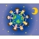 Kids Surrounding the Earth - GraphicRiver Item for Sale