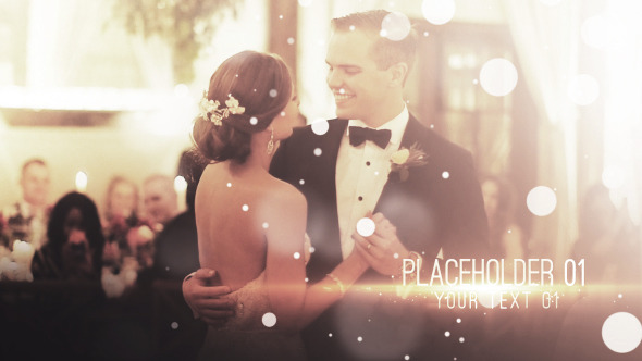 VideoHive Particle Wedding Slideshow 11611163
