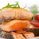 grilled samon filet with vegetables salad - PhotoDune Item for Sale