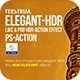 Elegant HDR Action - Photo Effects - GraphicRiver Item for Sale