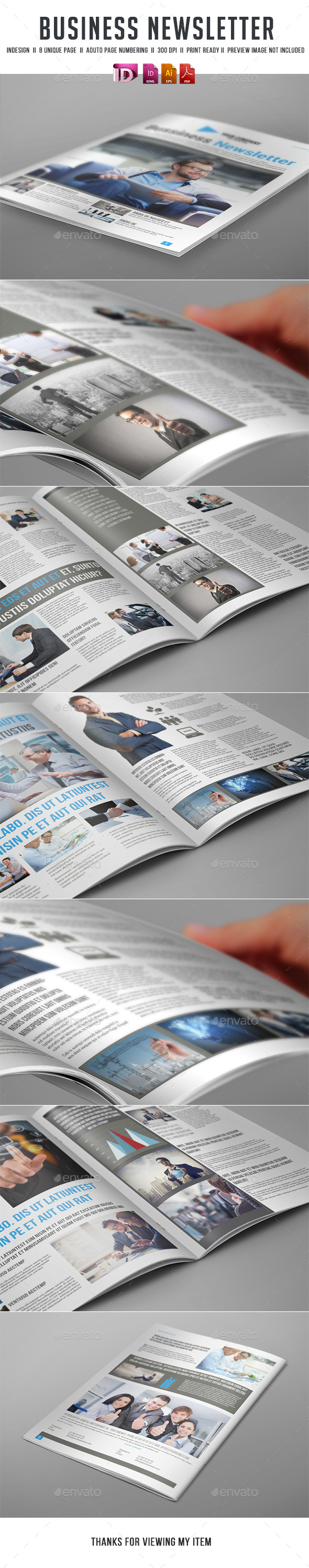 GraphicRiver Business Newsletter 11538895