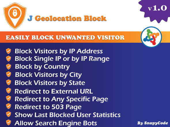 CodeCanyon J Geolocation Block Joomla Geo Location Block 11611937