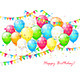 Balloons with Confetti and Pennants - GraphicRiver Item for Sale