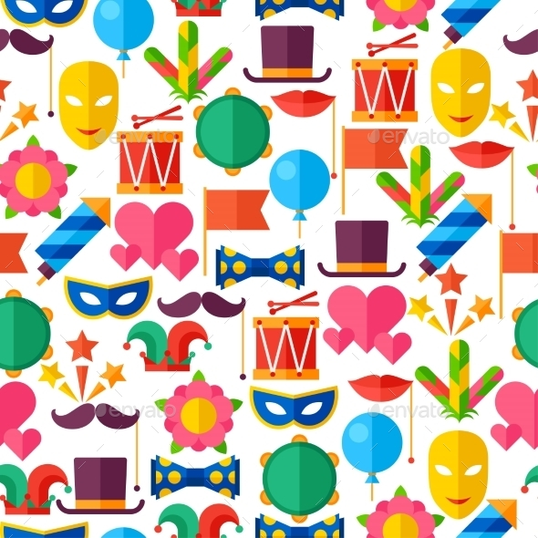 GraphicRiver Celebration Seamless Pattern 11612361