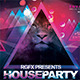 House Party Psd Flyer  - GraphicRiver Item for Sale