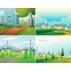 Cities and Parks - GraphicRiver Item for Sale