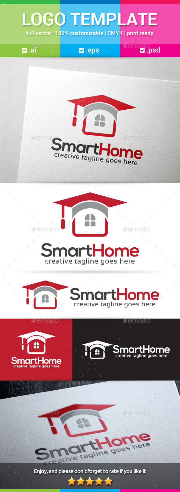 GraphicRiver Smart Home Logo 11612700