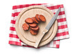 sliced dried sausages - PhotoDune Item for Sale